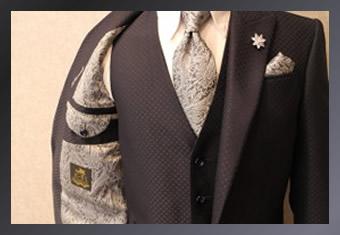 できる男のスーツ