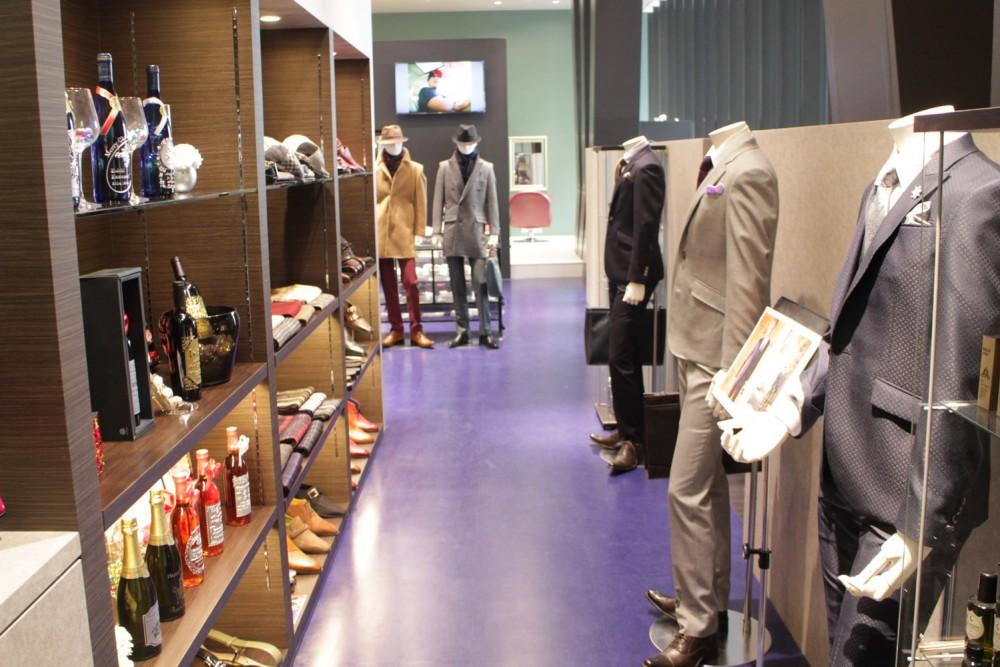 スーツ&美容室の新スタイル