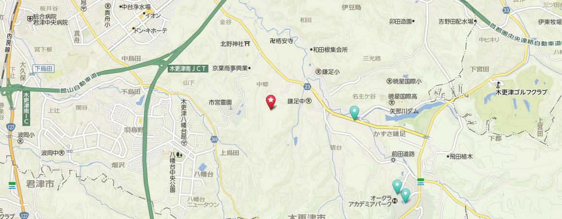 森本農園地図